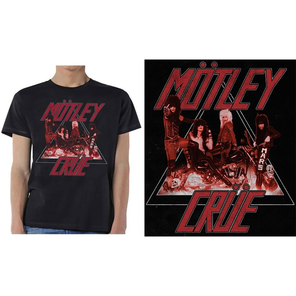 Motley Crue - Too Fast Cycle Men's X-Large T-Shirt - Black