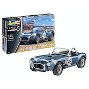62 Shelby Cobra 289 Level 5 1:25 Revell Model Kit