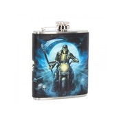 Hell Rider Hip Flask 7oz