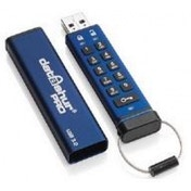 iStorage datAshur Pro 256-bit 8GB USB Flash Drive Blue