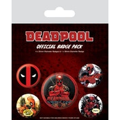 Deadpool - Outta The Way Badge Pack