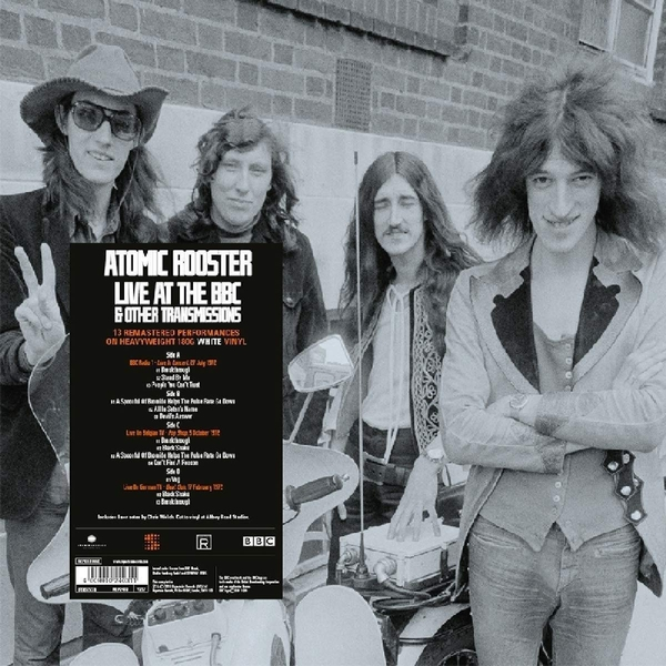 Atomic Rooster - On Air - Live At The Bbc & Other Transmissions Vinyl