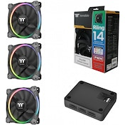 Thermaltake Riing Fans 140mm Premium RGB 3 Pack
