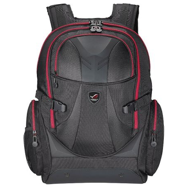 """Asus ROG XRanger Backpack, up to 17"""" Laptops, Water Resistant, Padded Compartments, Black"""