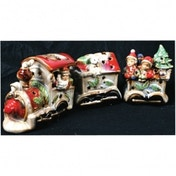 Train Tealight Holder Christmas Decoration