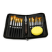15 Piece Artists Paint Brush Set & Case | Pukkr - Image 5