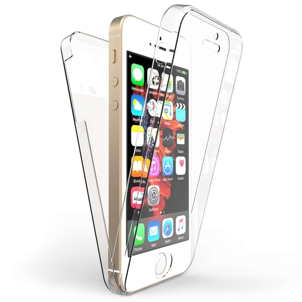 Compare prices with Phone Retailers Comaprison to buy a Apple iPhone 5 / 5S / SE Full Body 360 TPU Gel Case