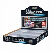 Ultra Pro 9-Pocket Secure Platinum Pages (100)