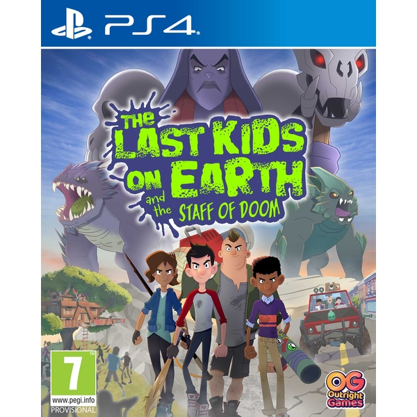 The Last Kids on Earth and the Staff of Doom PS4 Game
