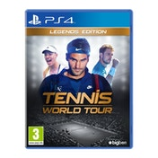 Tennis World Tour Legends Edition PS4 Game