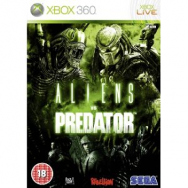 Aliens vs Predator (AVP) Game Xbox 360