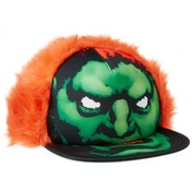 Capcom Street Fighter Blanka Character Face with Orange Hair Unisex Snapback Baseball Cap