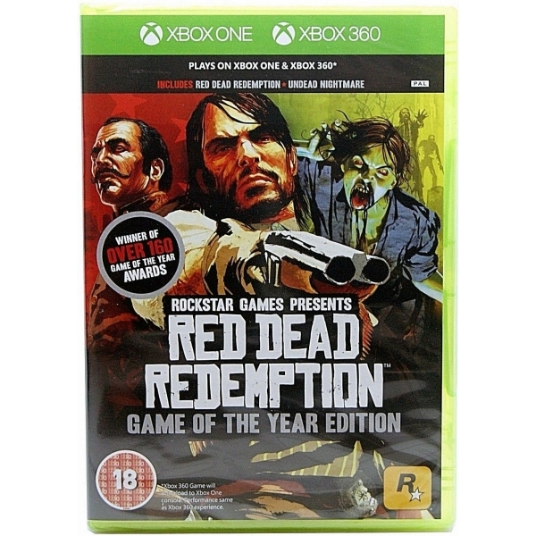 Ex-Display Red Dead Redemption Game Of The Year Edition (GOTY) Xbox 360 & Xbox One Used - Like New
