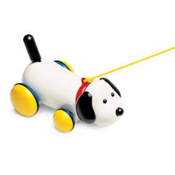 Max Pull Along Dog Toy