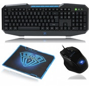 Aula Ajudication & Kill 928 Gaming Mouse 832 Keyboard & Mouse Pad Gaming Combo