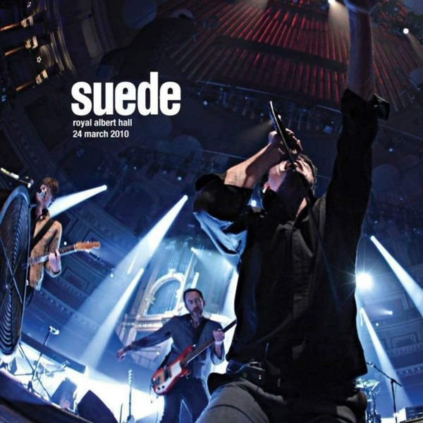 Suede - Royal Albert Hall. 24 March 2010 Clear Vinyl