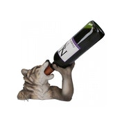 Lunar Thirst Wolf Wine Bottle Holder