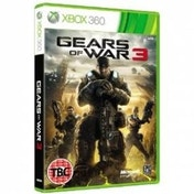 Ex-Display Gears Of War 3 Game Xbox 360 Used - Like New