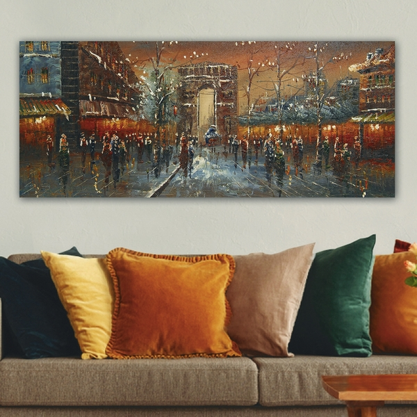 YTY7616_50120 Multicolor Decorative Canvas Painting