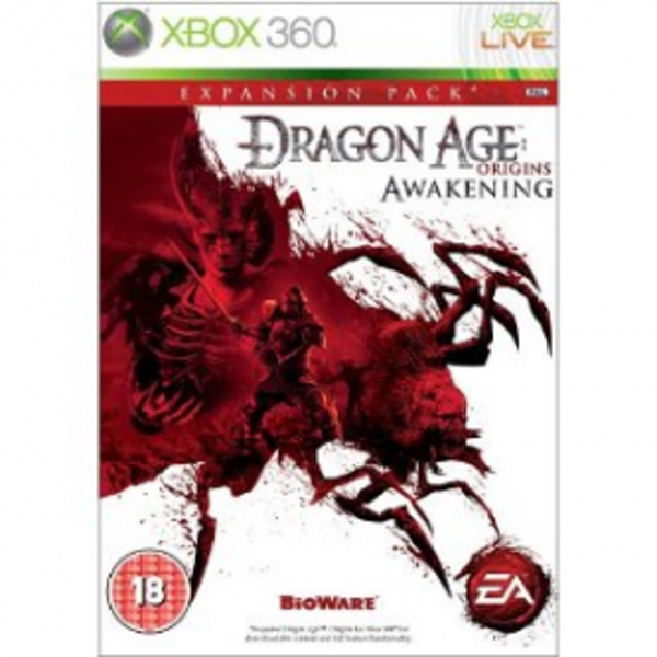 Dragon Age Origins Awakening Expansion Pack Game Xbox 360