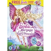 Barbie: Mariposa & The Fairy Princess DVD