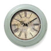 Antique Surround Atlas Wall Clock