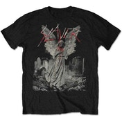 Slayer - Gravestone Walks Men's Large T-Shirt - Black