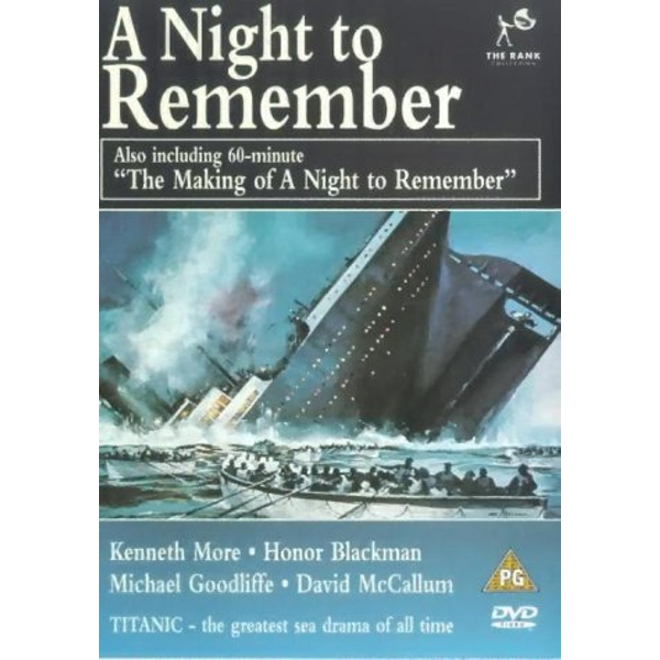 Night To Remember A / The Making Of A Night To Remember DVD