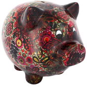 Black Pig Money Box