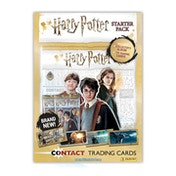 Harry Potter Contact Trading Card Starter Pack
