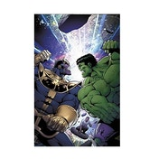 Marvel Thanos vs Hulk Paperback