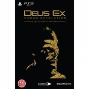 Deus Ex Human Revolution Collector's Edition Game PS3