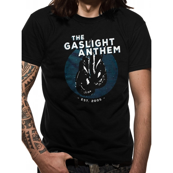 Gaslight Anthem - Gloves Men's Large T-Shirt - Black
