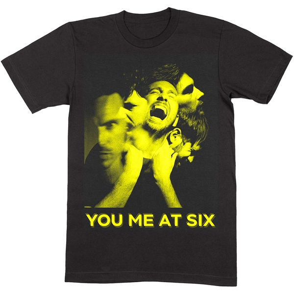 You Me At Six - Suckapunch Photo Unisex Medium T-Shirt - Black