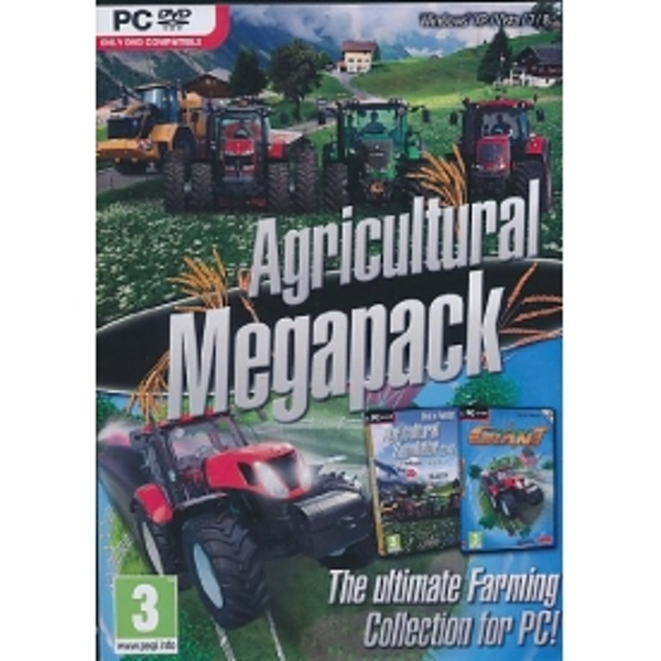 Agricultural Mega Pack Agricultural Simulator 2012 & Farming Giant Game PC