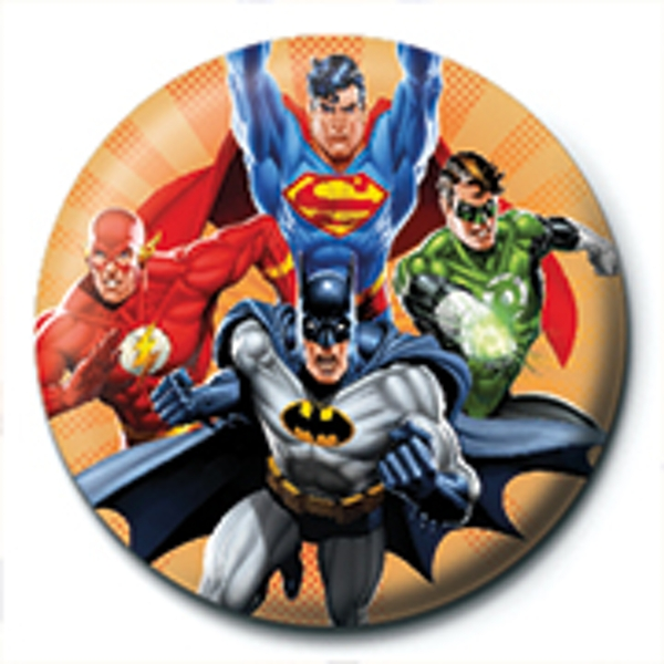 Justice League - Burst Badge