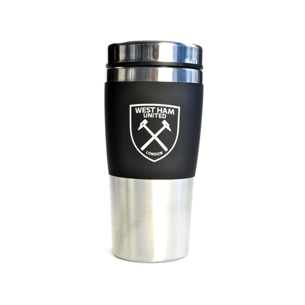 West Ham Executive Handleless Stainless Steel Travel Mug
