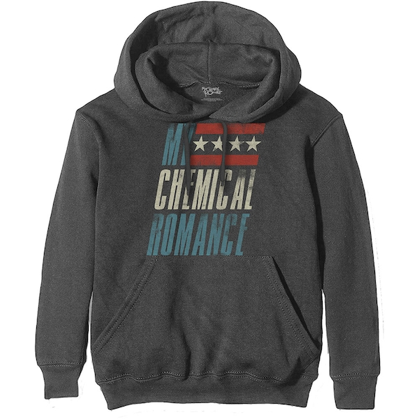 My Chemical Romance - Raceway Unisex Medium Hoodie - Grey