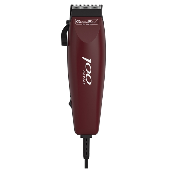 Wahl 79233-1017 GroomEase 100 Series Hair Clipper - Burgundy UK Plug