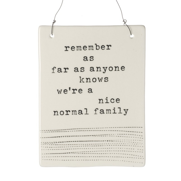 Ceramic Hanging Plaque By Heaven Sends