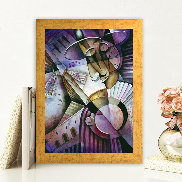 AC25652251 Multicolor Decorative Framed MDF Painting