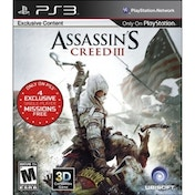 Assassin's Creed III 3 PS3 Game (#)