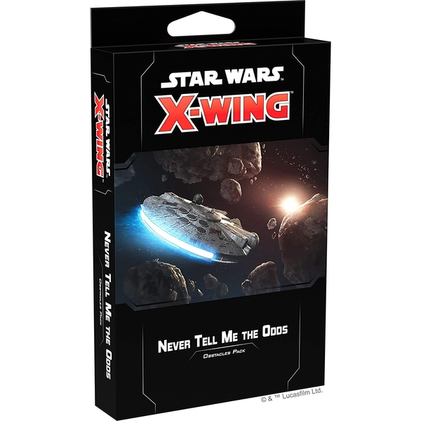 Star Wars X-Wing: Never Tell Me The Odds Obstacles Pack