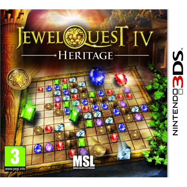 Jewel Quest 4 Heritage Game 3DS
