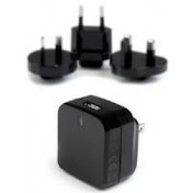 StarTech USB Wall Charger with Quick Charge 2.0 International Travel Black