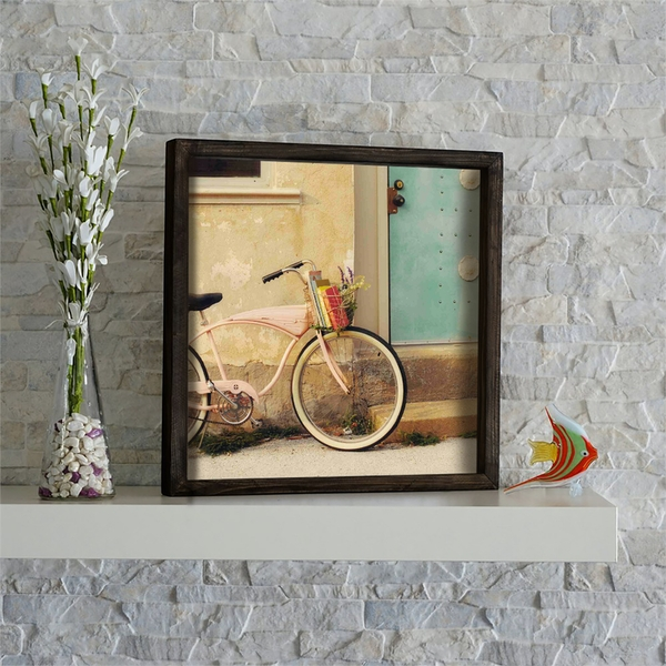 KZM586 Multicolor Decorative Framed MDF Painting