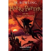 Harry Potter and the Order of the Phoenix (Book 5) Hardcover – Large Print