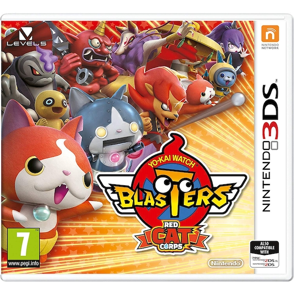 Yo-Kai Watch Blasters (Red Cat) 3DS Game