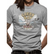 Green Day - Dookie Men's Large T-Shirt - Grey