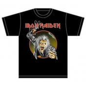 Iron Maiden Eddie Hook Mens Black TShirt: X Large